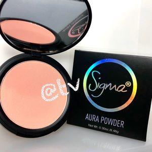 2/$20 Sigma Beauty Aura Powder Blush Face Powder